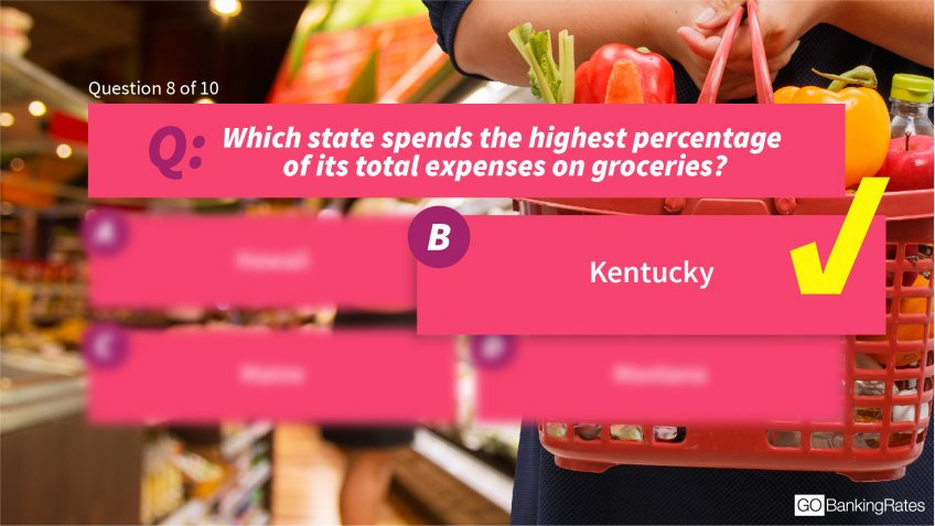 Answer: b) Kentucky