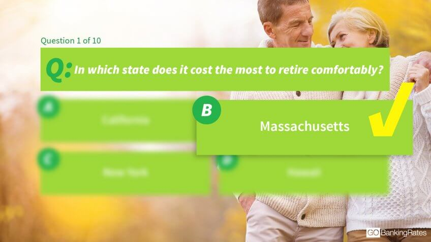 Answer: b) Massachusetts