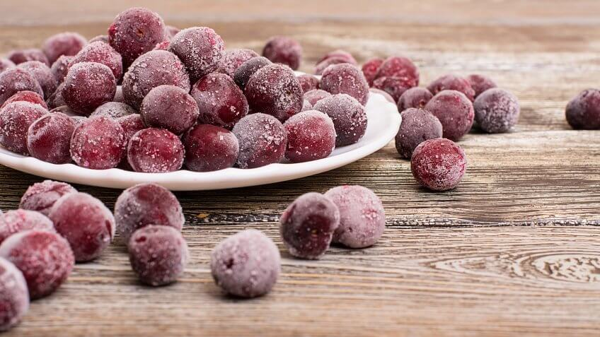 Frozen Food, cherries