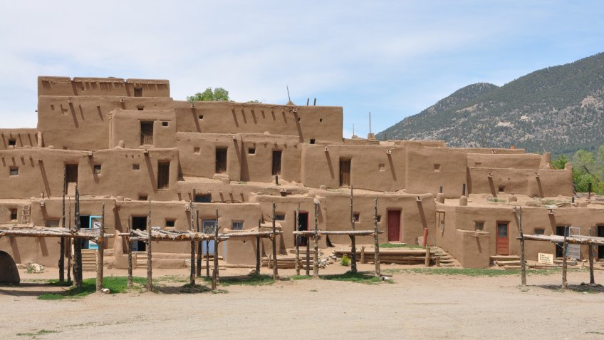 Adobe, Taos-New-Mexico, taos, taos pueblo