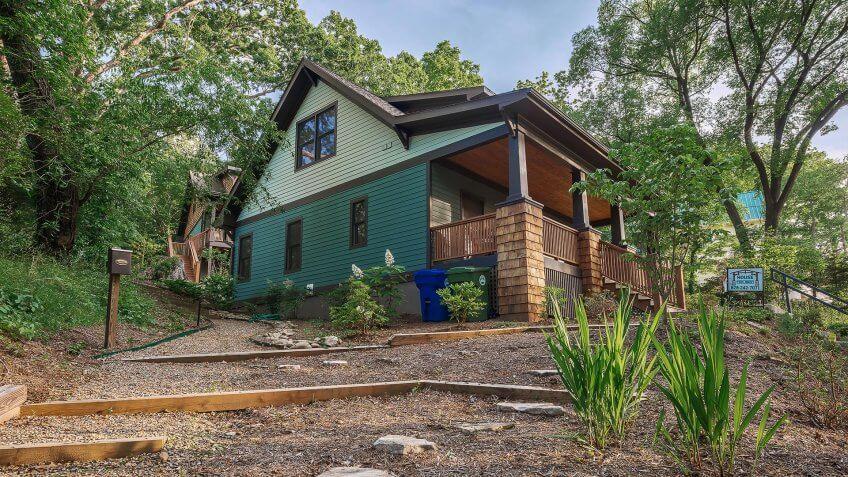 Real Estate Photography (109 Santee Street, Asheville NC).