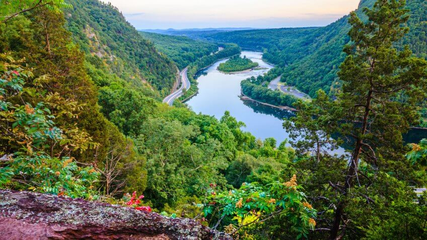Delaware Water Gap, Pennsylvania.
