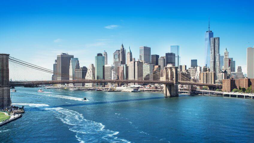 picture of manhattan new york.