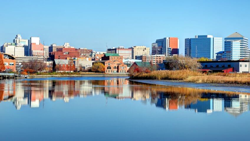 Wilmington is the largest city in the state of Delaware, United States and is located at the confluence of the Christina River and Brandywine Creek.