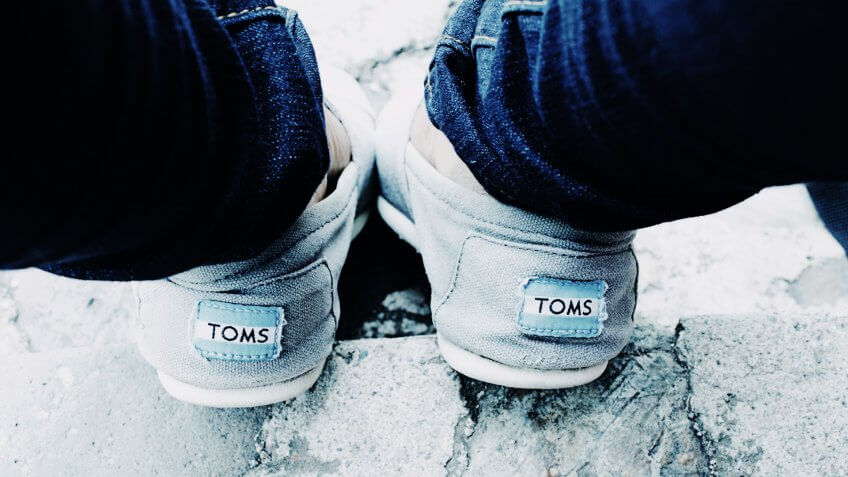 BUSINESSES, COMPANIES, TOMS