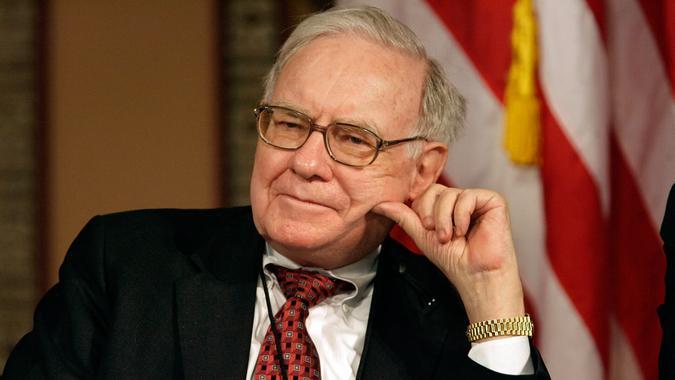 WASHINGTON - MARCH 13:  Warren Buffett, chairman and CEO of Berkshire Hathaway Inc.