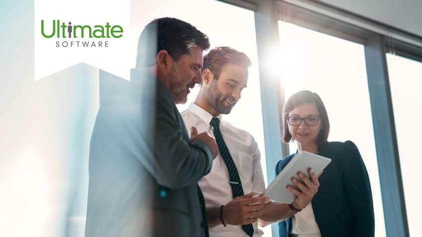 group-businesspeople-using-digital-tablet-together