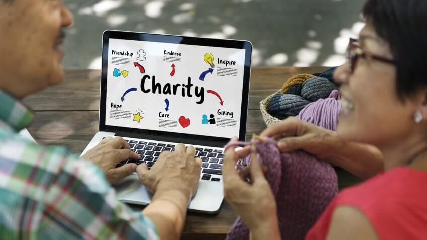 retired charitable contributions