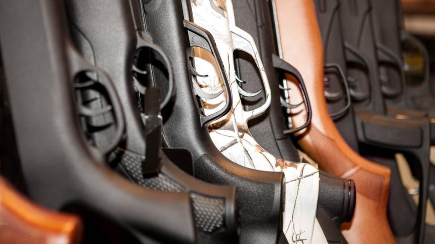 guns-arsenal-collection-closeup-their-grips