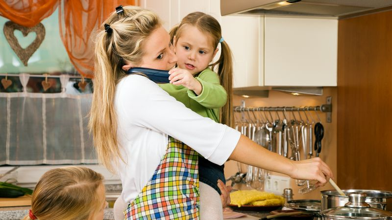 Wife, stay-at-home-mom