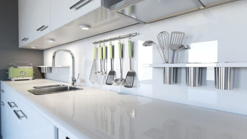 vinyl kitchen countertops