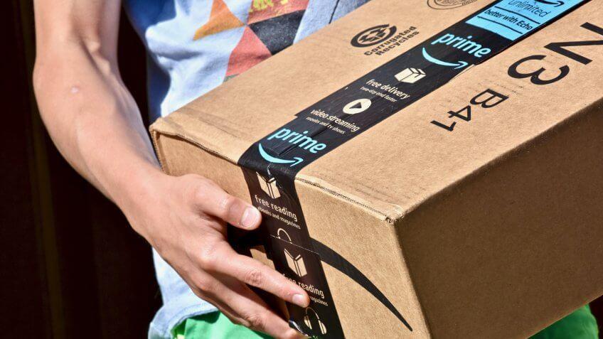 Amazon shipping product