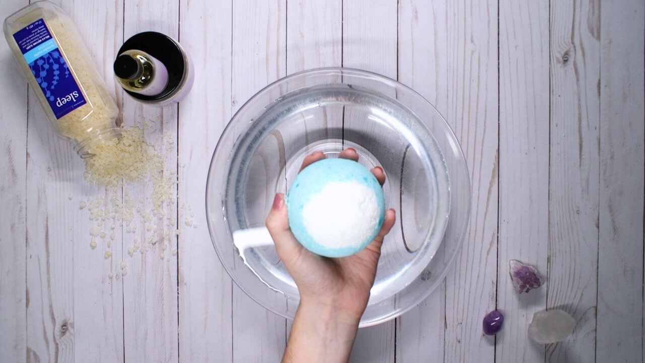 How to DIY a Lush Bath Bomb at Home — for Cheap