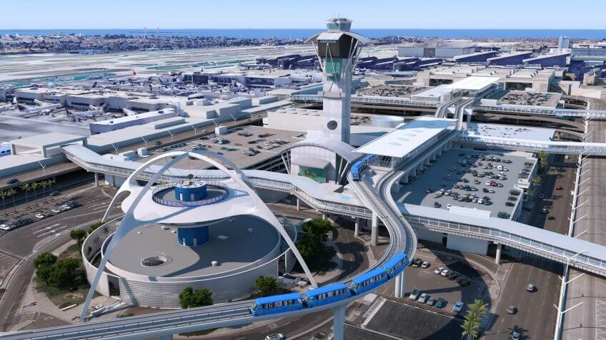 LAX, Los Angeles, airport, renovation