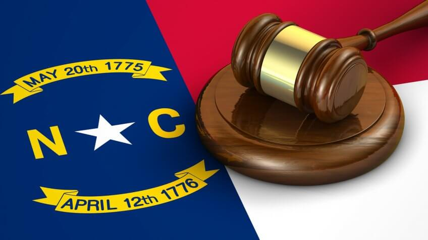 flags, flag, state flags, state flag, NORTH CAROLINA