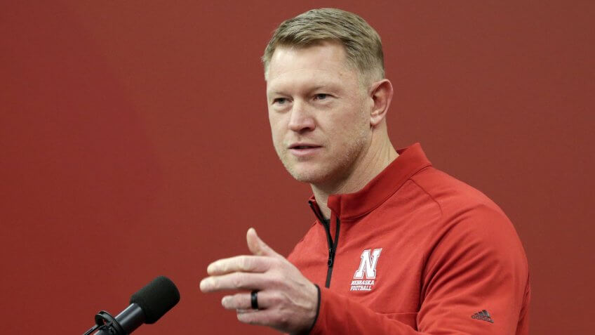 Nebraska coach Scott Frost