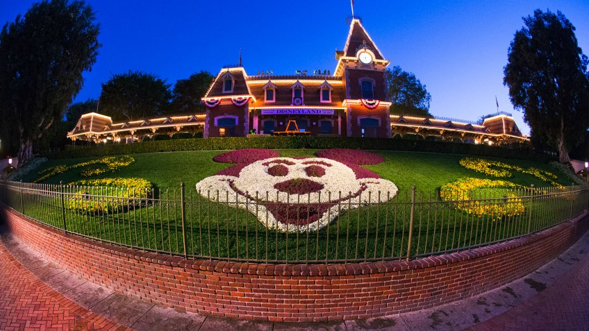 Planting the Magic At the Disneyland Resort in Anaheim, Calif.