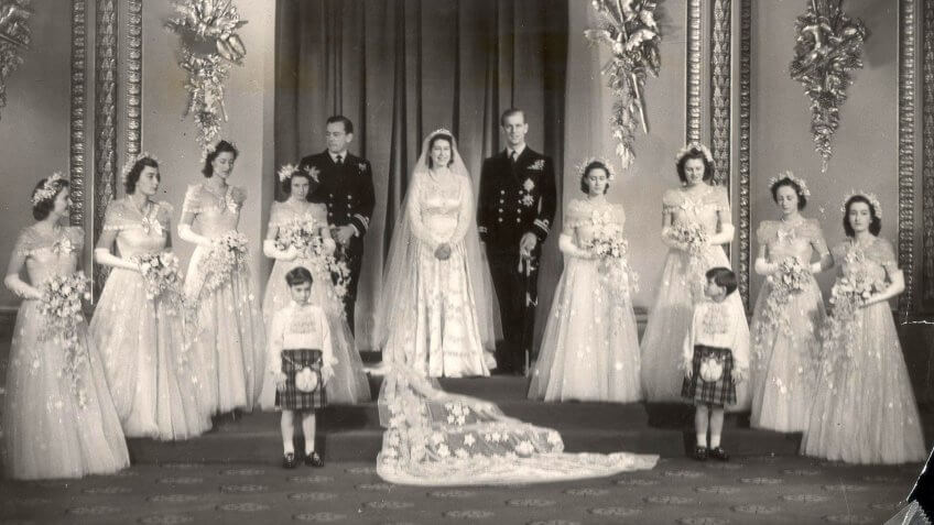 Quiz how much do you really know about the queens spending the queen used ration coupons to pay for her wedding dress true or false junglespirit Image collections