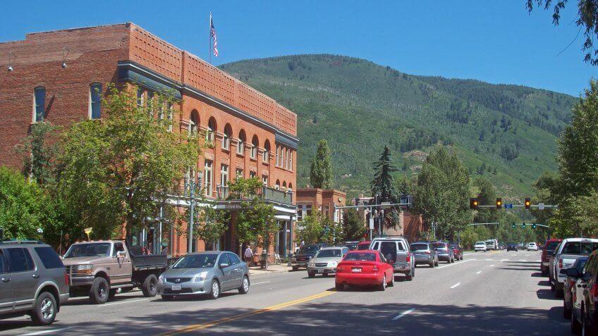 Aspen, colorado, main street