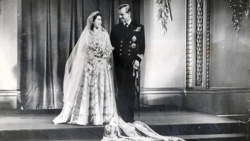Wedding Of The Princess Elizabeth (queen Elizabeth II) And Prince Philip (duke Of Edinburgh)