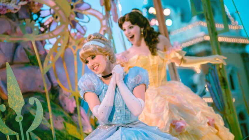 Disney Princess, Disneyland