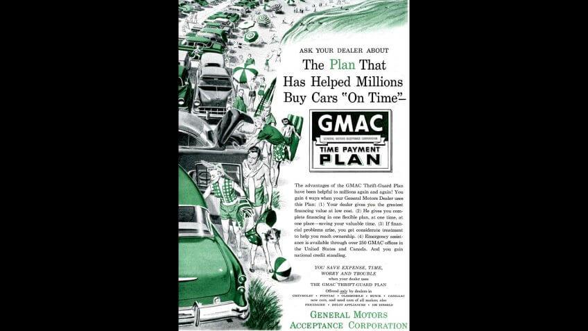 GMAC, General Motors, General Motors Acceptance Corporation