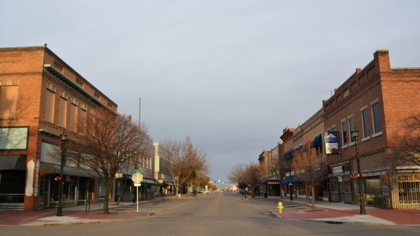 Nampa Historic District, Idaho.