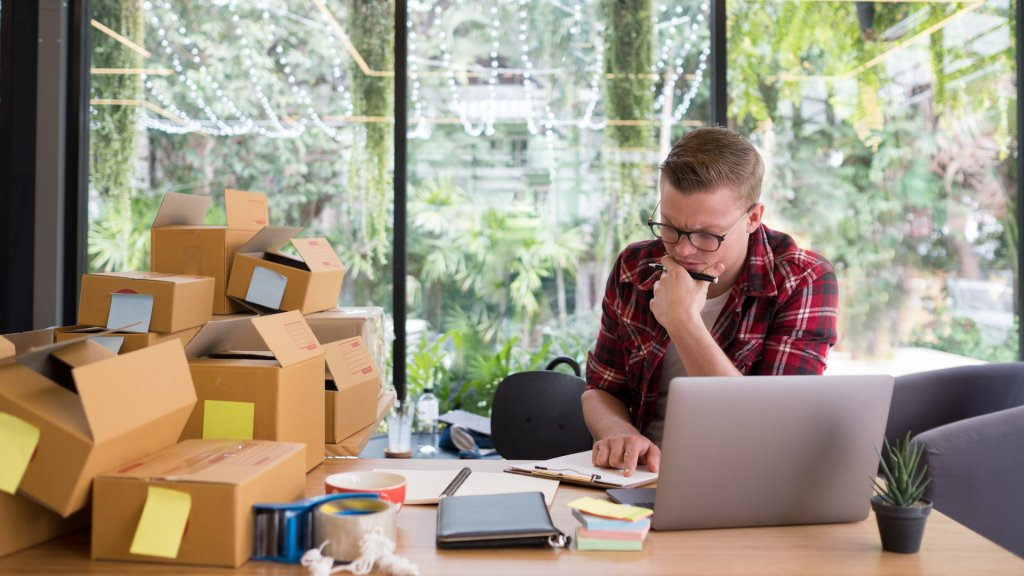Etsy store owner, online merchant