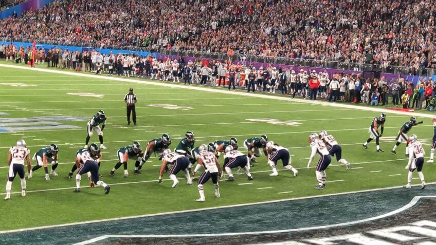 Super Bowl LII, betting, bookmakers, gambling