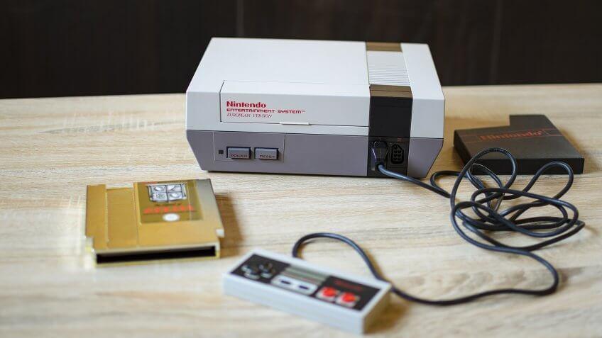 NES, Nintendo, Nintendo Entertainment System, toys, video game, video game console