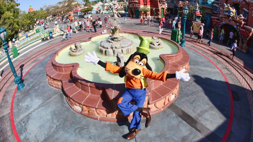 MICKEY'S TOONTOWN -- The land that Toons built is an interactive metropolis full of topsy turvy architecture and whimsical sculptures that some of your favorite Disney characters call home.