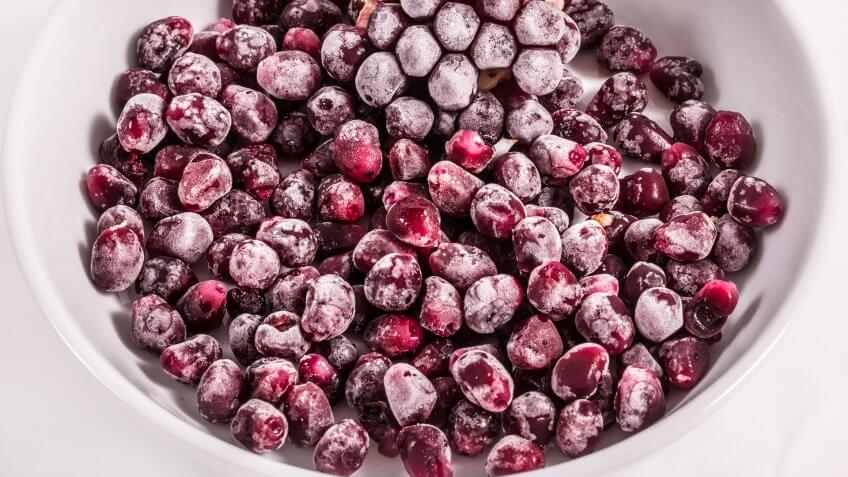 Frozen Food, pomegranate, pomegranate arils