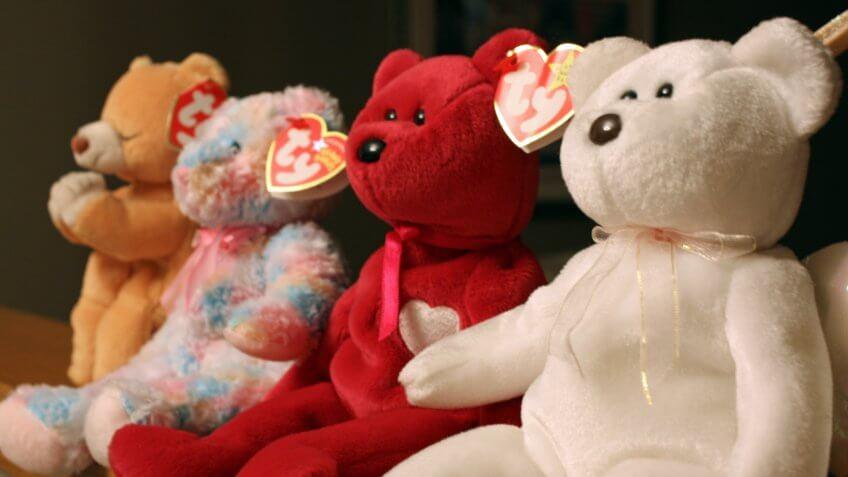 Beanie Babies, Childhood, toys