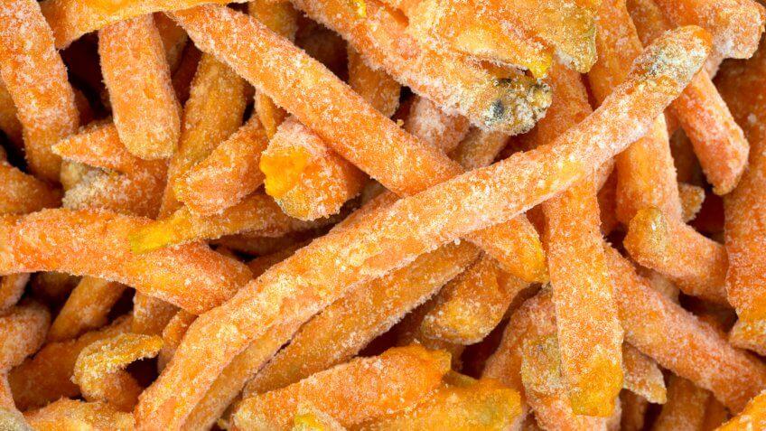 frozen sweet potato french fries