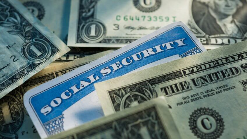 Close-up, Currency, Dollar, Finance, Horizontal, Identity, Large Group of Objects, Nobody, Savings, Social Security, Studio Shot, Text, Western Script, account, cash, money, program