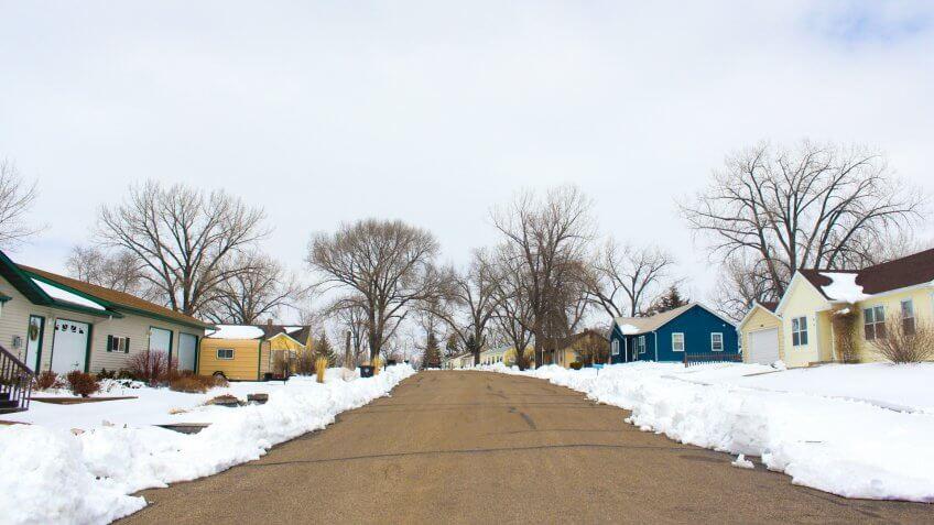 River-dale, North Dakota, USA.