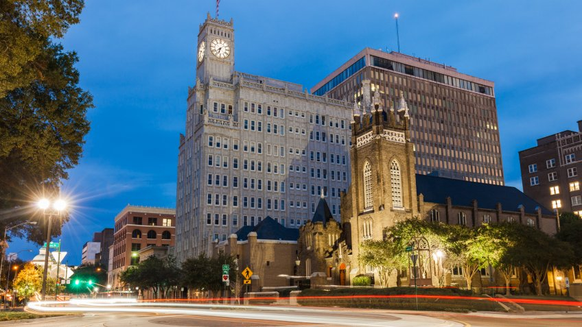 Downtown Jackson, Mississippi