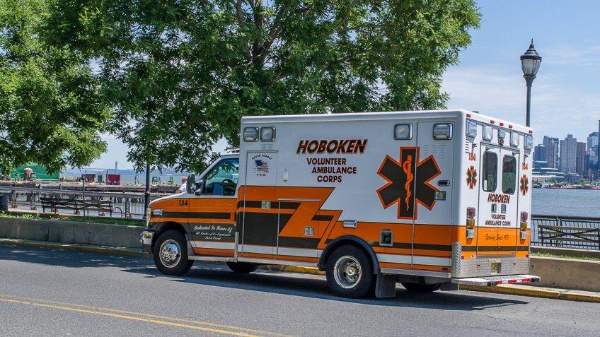 Hoboken Volunteer Ambulance Corps.