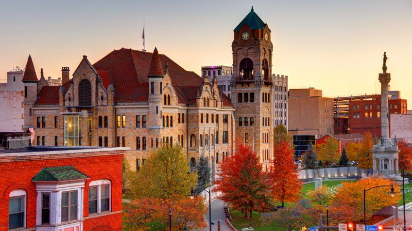 Lackawanna County Courthouse is a historic courthouse building located at Scranton.