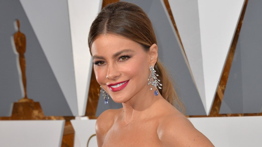 LOS ANGELES, CA - FEBRUARY 28, 2016: Sofia Vergara at the 88th Academy Awards at the Dolby Theatre, Hollywood.