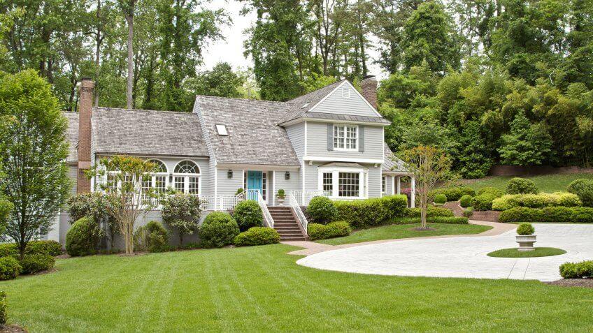 Mansion in Richmond Virginia.