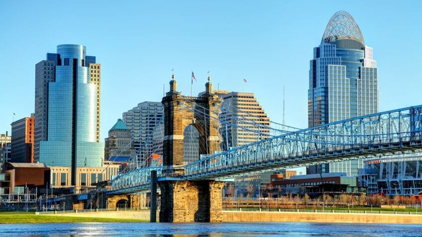 Cincinnati is a city in the state of Ohio.