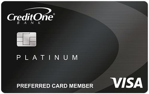 CreditOneBank Platinum Credit Card