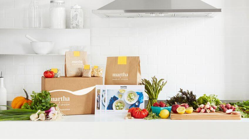 Food, Martha & Marley Spoon, food subscription