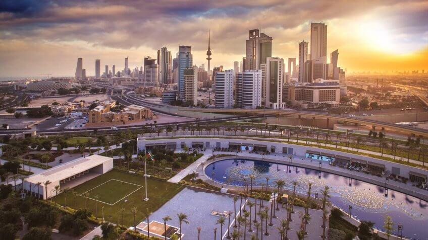 Beautiful Kuwait during Sunrise.