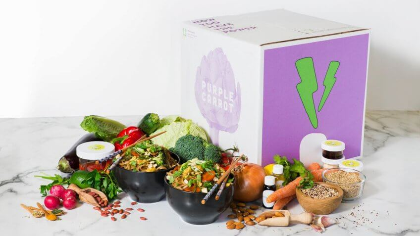 Food, Purple Carrot, food subscription