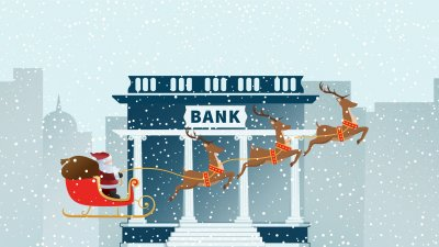 Banks Open on Christmas Eve and Christmas Day 2017
