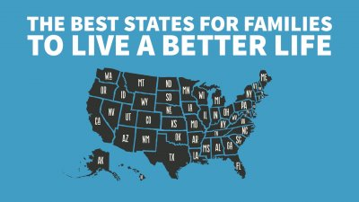 Best States for Families to Live a Richer Life