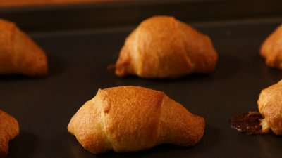 Budget Bites: Chocolate Bar Stuffed Croissants