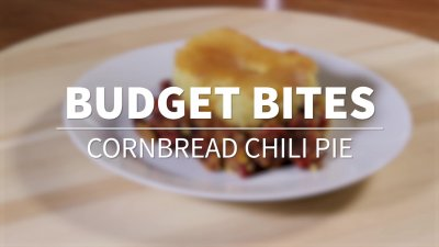 Budget Bites: Cornbread Chili Pie